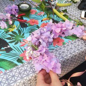 Atelier art floral à Bordeaux
