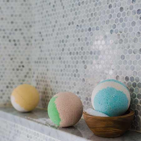 Atelier cosmétique - Bombe de bain
