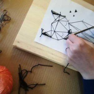 Atelier string art à Libourne