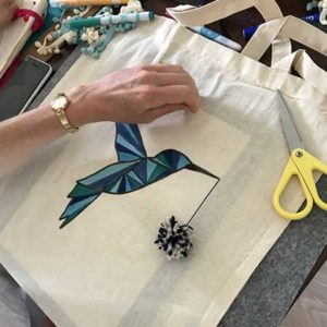 Atelier tote bag à Angers