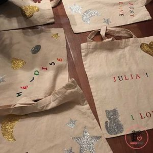 Atelier customisation tote bag à Lille