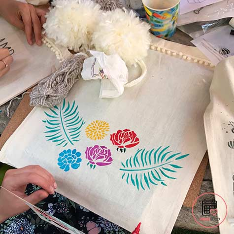 Atelier tote bag rennes
