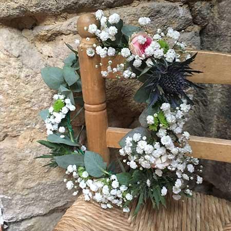 Atelier couronne de fleurs Nantes