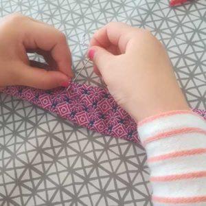 Atelier couture à la main