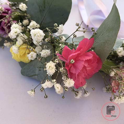 Atelier couronne de fleurs à Narbonne