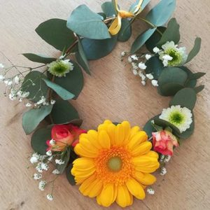 Atelier couronne de fleurs à Paris