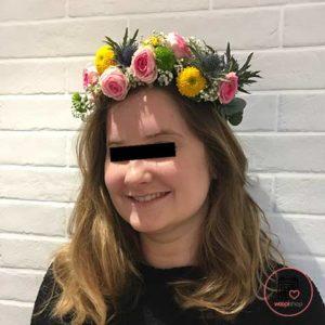 Atelier couronne de fleurs à Brest