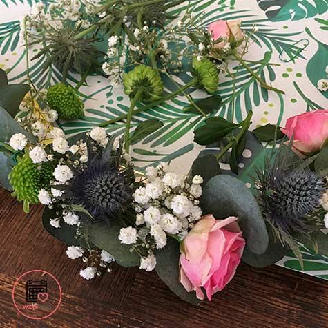 Atelier couronne de fleurs à La Rochelle