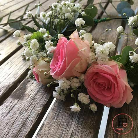 Atelier couronne de fleurs en Loire Atlantique