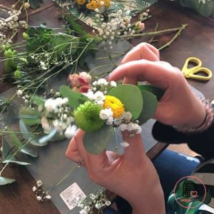 Atelier couronne de fleurs à La Baule