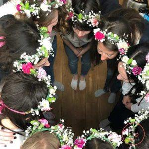 Atelier couronne de fleurs à Montpellier