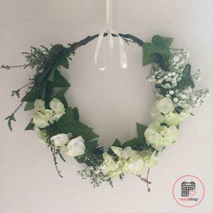 Atelier couronne de fleurs à Lorient