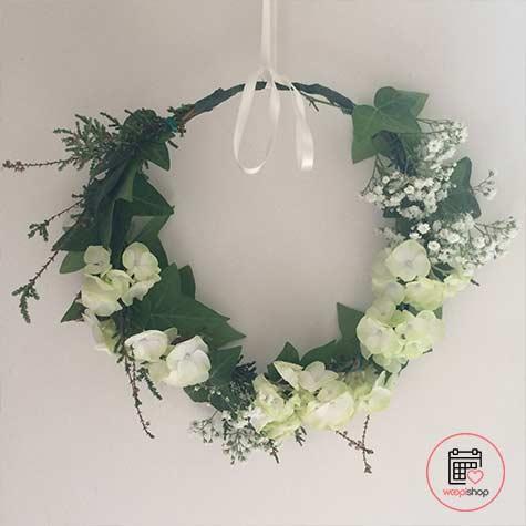 Atelier couronne de fleurs dans le Morbihan