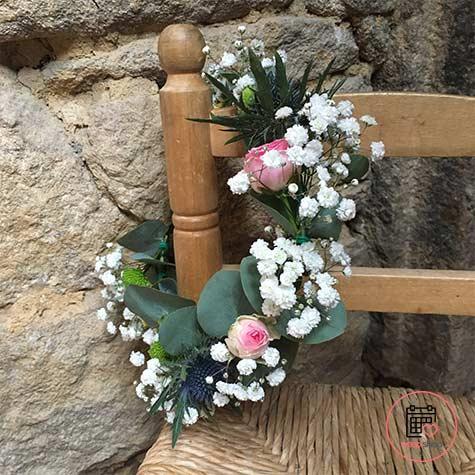 Atelier couronne de fleurs à Saint Brieuc