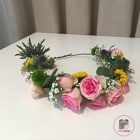 Atelier couronne de fleurs à Saint Malo