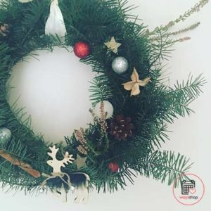 Atelier couronne de Noël Rennes