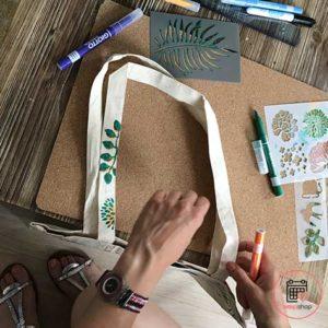 Atelier tote bag en Loire Atlantique