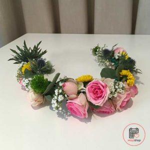 Atelier couronne de fleurs à Fougères