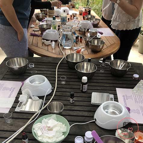 Atelier cosmétique à Toulouse