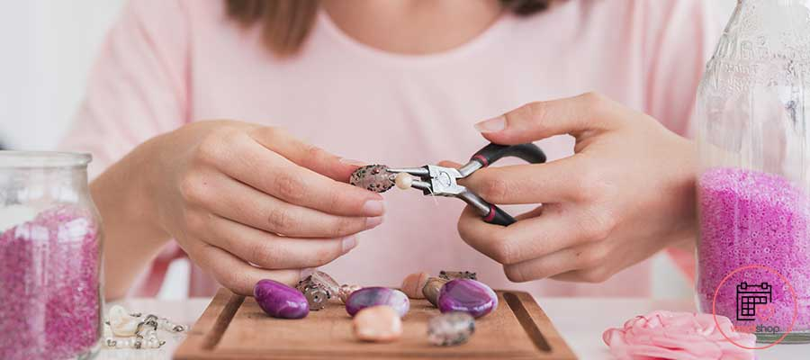 Atelier bijoux pour un EVJF Guidel