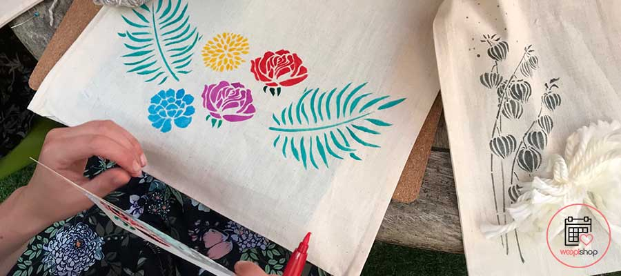 Atelier tote bag EVJF Marennes Hiers Brouage